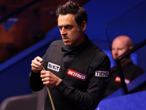 Ronnie O'Sullivan crashed out of the Northern Ireland Open (George Wood/PA)