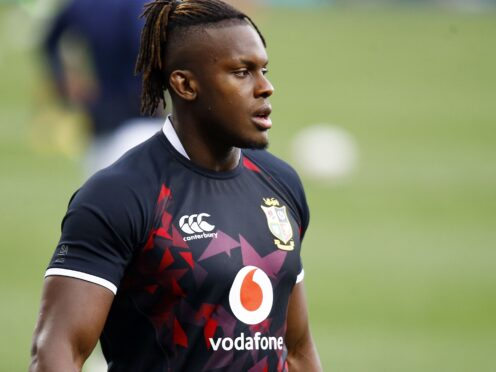 Maro Itoje was ever-present for the British and Irish Lions' three summer Tests against South Africa (Steve Haag/PA)