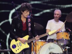 Ronnie Wood has recalled his final meeting with Charlie Watts, revealing he spoke to his Rolling Stones bandmate weeks before he died (Yui Mok/PA)
