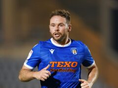 Colchester's Alan Judge has undergone a scan on his calf injury (Joe Giddens/PA)