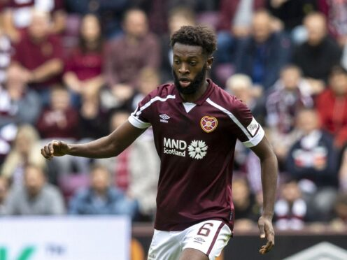 Beni Baningime has made a strong start to his Hearts career. (Jeff Holmes/PA)