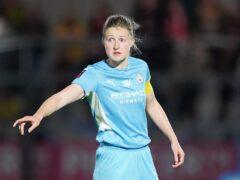 Ellen White scored for City (Dominic Lipinksi/PA)