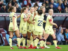 Arsenal are currently top of the WSL four games into the season (Nigel French/PA)