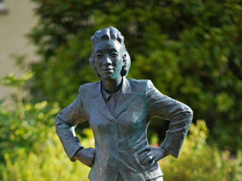 A statue of Henrietta Lacks was unveiled on the 70th anniversary of her death at Royal Fort House in Bristol (PA)