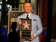 Daniel Craig has been honoured with a star on the Hollywood Walk Of Fame (AP Photo/Chris Pizzello)