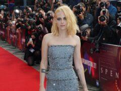 Kristen Stewart arrives for the UK premiere of Spencer (Ian West/PA)
