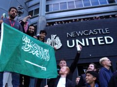 Newcastle's takeover by a Saudi Arabian-led investment company has led to scrutiny over human rights issues (Owen Humphreys/PA)