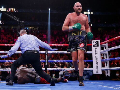 Tyson Fury believes he is the greatest heavyweight of his era (Chase Stevens/AP)