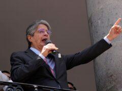 Ecuadorian President Guillermo Lasso (Dolores Ochoa/AP)