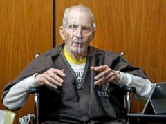 New York real estate heir Robert Durst (Gary Coronado/Los Angeles Times via AP)