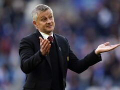 Manchester United manager Ole Gunnar Solskjaer (Mike Egerton/PA)