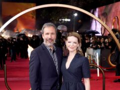 Director Denis Villeneuve and his wife, executive producer Tanya Lapointe (Ian West/PA)