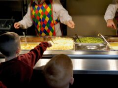 Some schools have faced a disruption over school meals following nationwide supply chain issues. File image. (Anthony Devlin/PA)