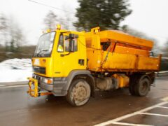 Roads could be left covered in dangerous snow and ice this winter due to a shortage of gritter drivers (Chris Ison/PA)