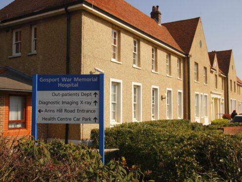 Gosport War Memorial Hospital (Chris Ison/PA)