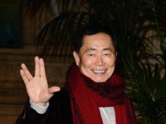 George Takei reopened his long-running feud with former Star Trek colleague William Shatner as he dismissed the actor's space flight (Ian West/PA)