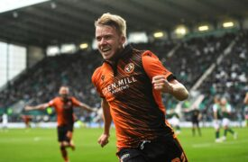Kieran Freeman: Goal in Dundee United's Beautiful Saturday win was the best moment in my life