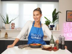 Ferne McCann has set herself a challenge to raise awareness of Mary's Meals (Mary's Meals/PA)