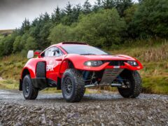 Prodrive's fuel has already been tested in the Hunter