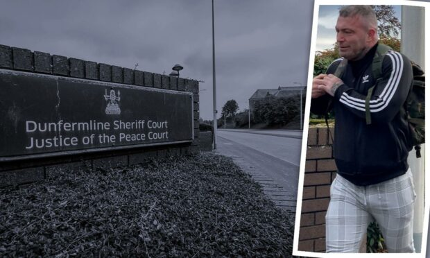 Dundee ex-Black Watch officer blames Afghan bomb PTSD for domestic abuse