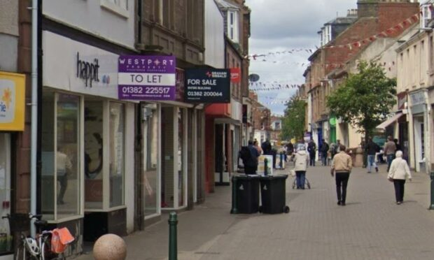 High street takeaway plan floated for Arbroath's one-time 'Mary Celeste' shop