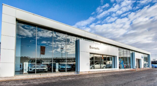Tayside and Fife car dealership owner sees £100m fall in sales