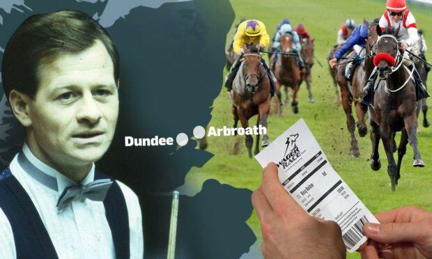 Alex Higgins, Steve Davis and the Arbroath bookie who cost the Hurricane a grand