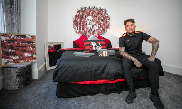 Beano-themed flat celebrates Dundee's comic culture