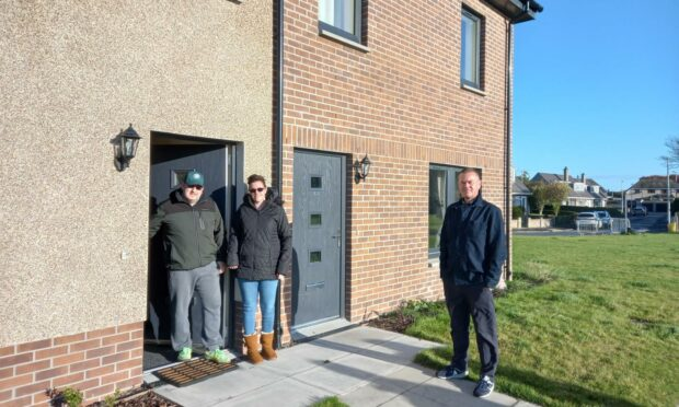 First tenants move in to new Arbroath council houses