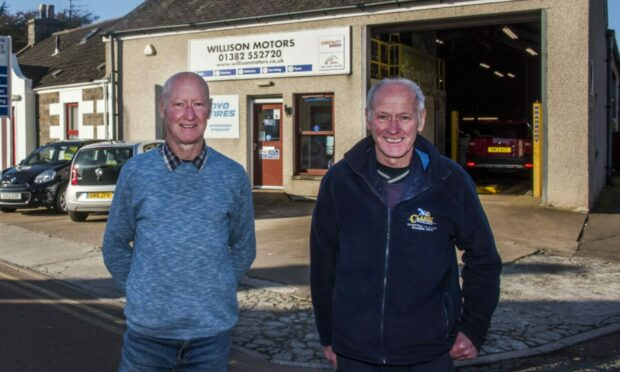 'We're proud of what we achieved': Brothers look back on 35 years running Tayport garage