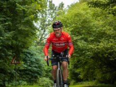 Gordon Miller prepares for his cycling challenge (Gordon Miller/PA)