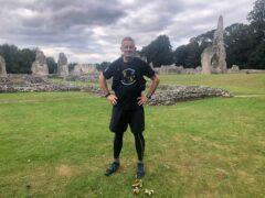 Matt Bagwell has run through every county of England on his journey (Matt Bagwell/Run The Country Ultra)