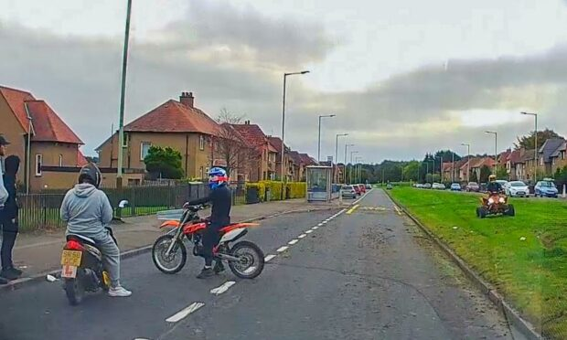 Parents fear children could be killed by illegal bikers in Dundee