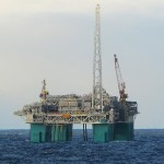 Production from North Sea platform stopped due to gas leak