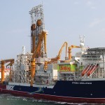 Oil worker dies on drilling ship