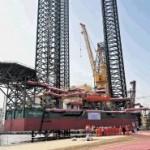 Lamprell delivers jackup drilling rig