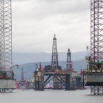 Stacked rigs bring Cromarty Port 'unfortunate' financial boost