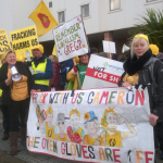 Fracking opponents due back in court as legal battle rumbles on
