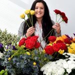 Life after oil: All rosy in the garden for ex-oil worker as flower business is 'blooming'