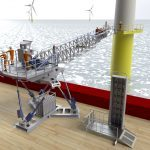 Ampelmann launches improved people and cargo transfer system for offshore wind industry