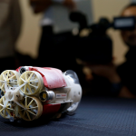 Swimming robot to probe damage at Fukushima nuclear plant
