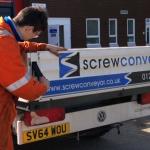 Stodart's Screw Conveyor facing administration