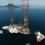 Video: Amazing footage of rigs bound for Statoil fields