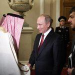 Oil and Syria on agenda as Putin meets Saudi Arabia's King Salman