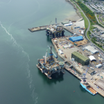 Semco in Invergordon readies jack-up for cold conditions