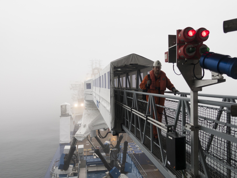 'Icemann' achieves 10,000 safe transfers