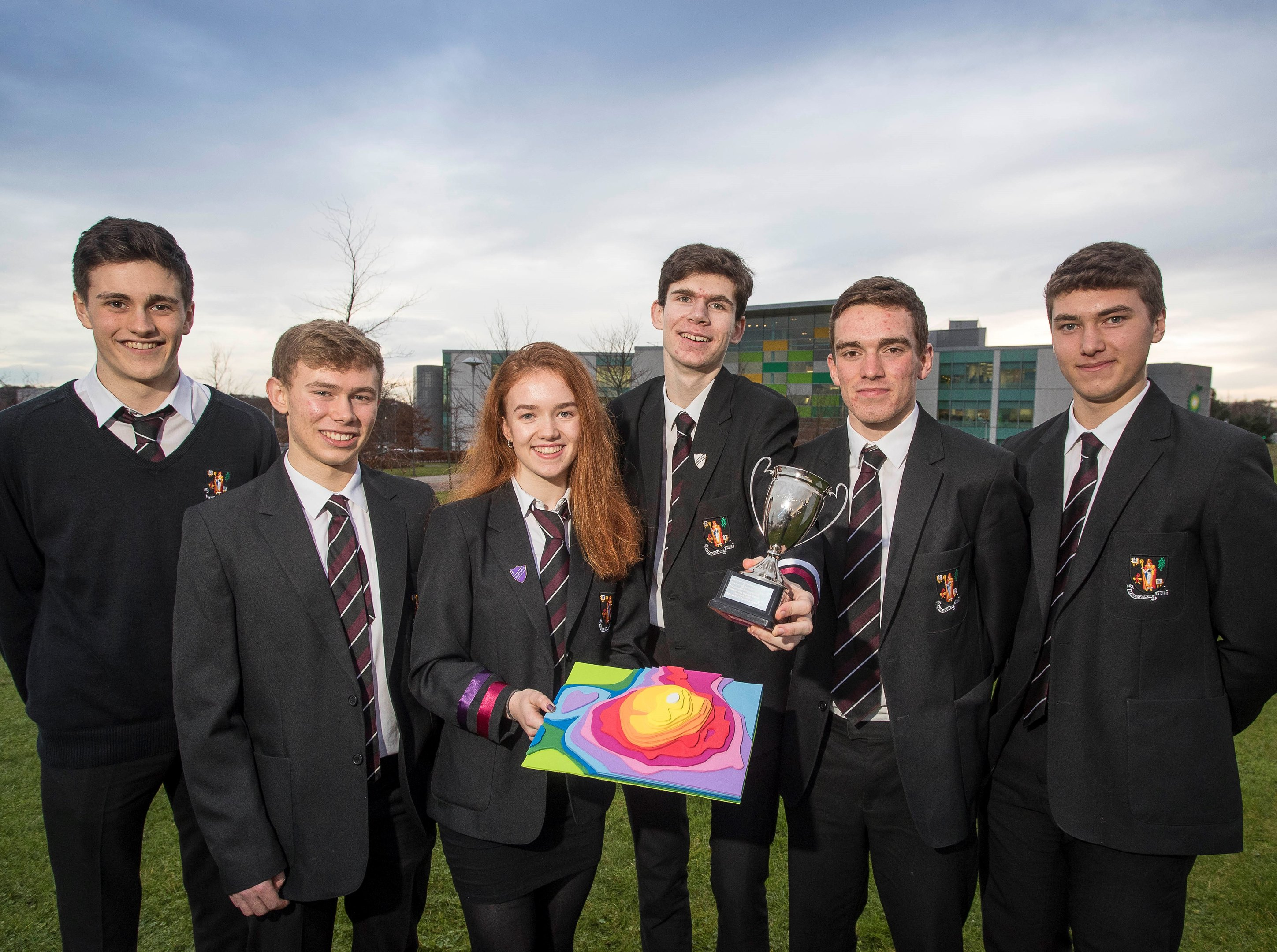 Banchory Academy takes top spot at oil and gas STEM challenge