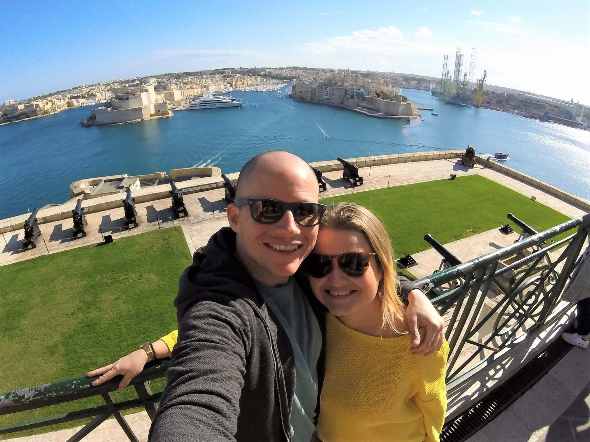 Life after oil: A couple's journey from employment uncertainty to Maltese dream