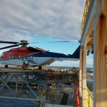 Chopper in rig collision removed from platform