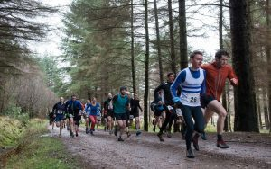 Runner took part in the second last race of the winter league. Abrightside Photography. F09 LAC 2no JP